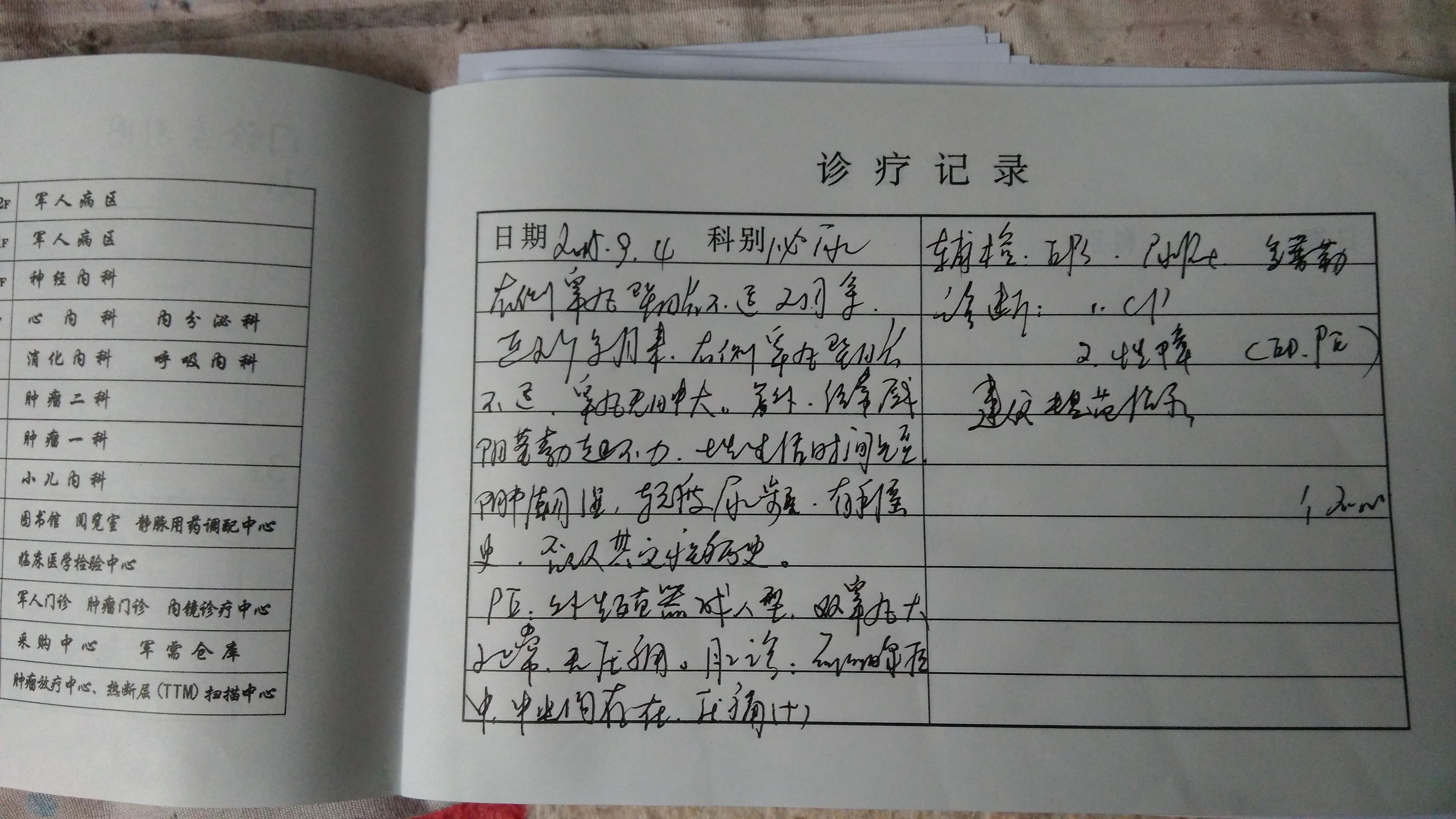 济南武警总队诊疗记录-男性健康网